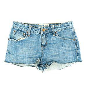 Levi's Signature Women's Jean Shorts Cut-Off Denim